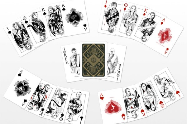 GoT Playing Cards by Paul Nojima on Etsy