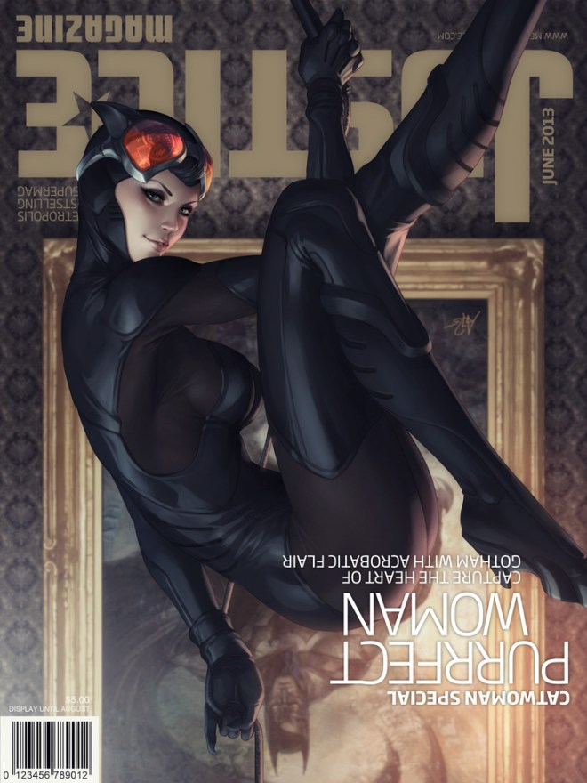 Justice Mag - Catwoman