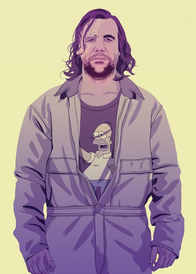 Sandor Clegane | Illustration by Mike Wrobel