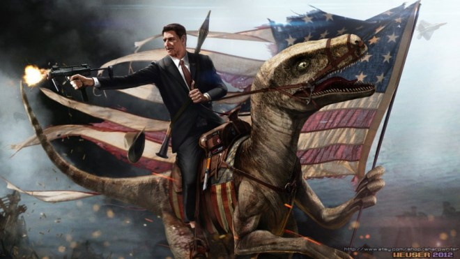 Bad-ass Presidential Portraits by Jason Heuser