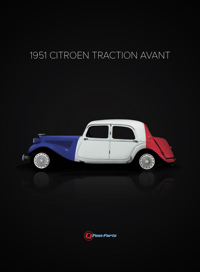1951CitroenTractionAvant
