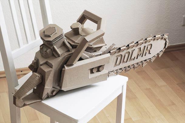 Unbelievable Cardboard Sculptures by Bartek Elsner – UCreative.com