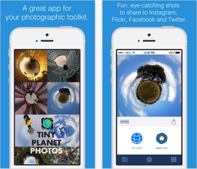 Tiny-Planet-Phone-App