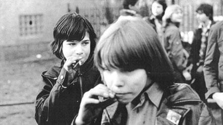 East Germans Smoking