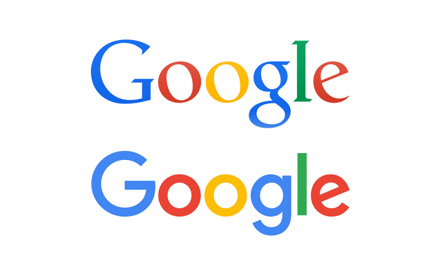 google logo comparison
