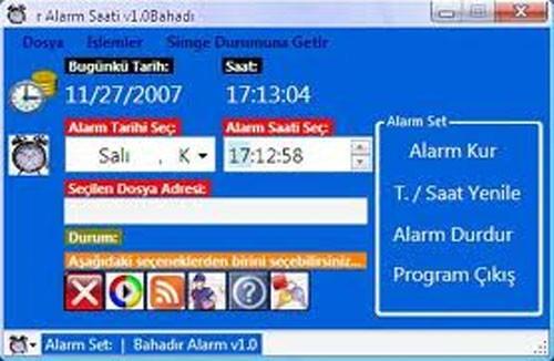 Bahadır Alarm saati