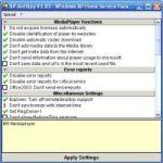 XP-Antispy Windows Optimizasyon Programı