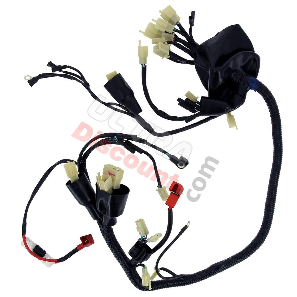 medium resolution of wire harness for atv shineray quad 200cc stiie b shineray parts atv 200stiie and