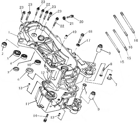 125cc Dirt Bike Engine 250Cc Scooter Engine Wiring Diagram