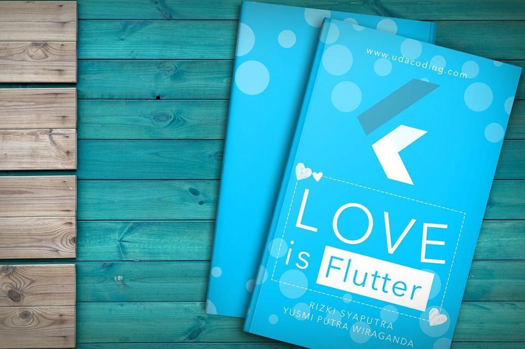 buku love is flutter