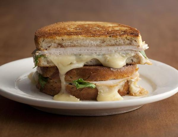 Food Network turkey brie sandwich