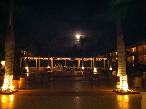 full moon at secrets royal in punta cana