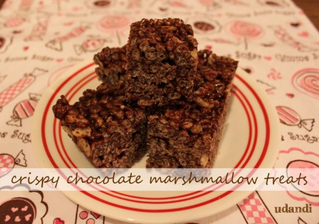 Crispy Chocolate Marshmallow Treats