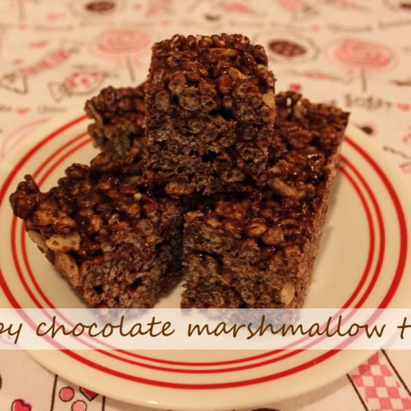 Crispy Chocolate Marshmallow Treats