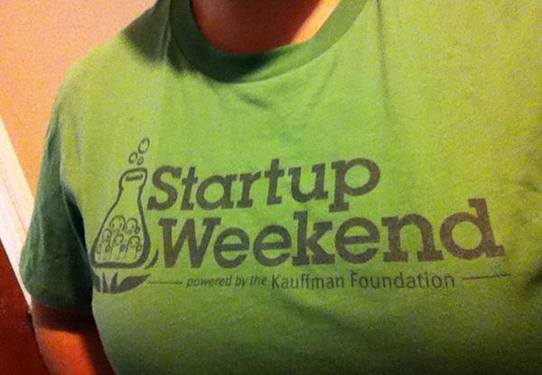 startup weekend t-shirt