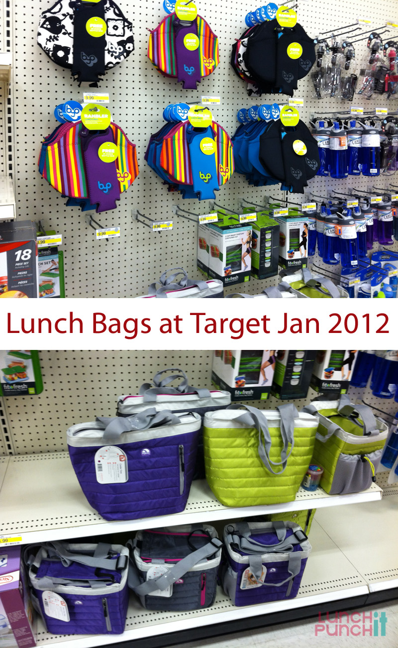 Lunch Bags at Target - udandi