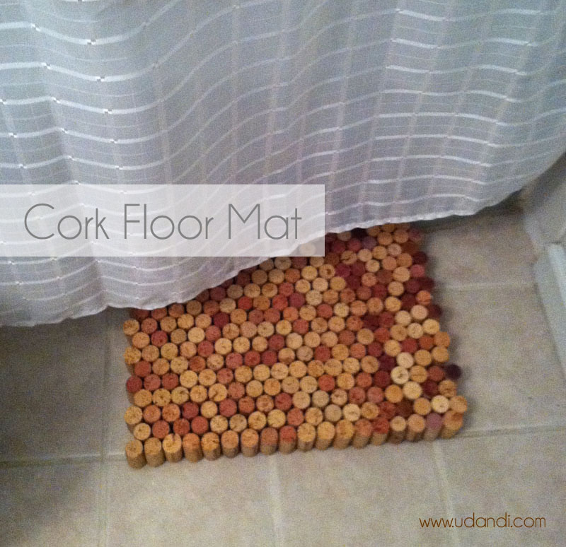 Make It: Cork Floor Mat