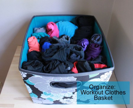 workout clothes basket by udandi.com