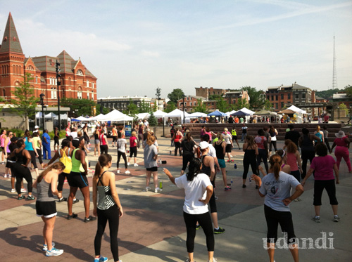 zumba at washington park cincinnati by udandi.com