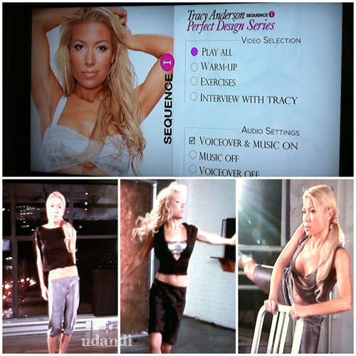 DVD Review: Tracy Anderson Perfect Design Series - Sequence 1