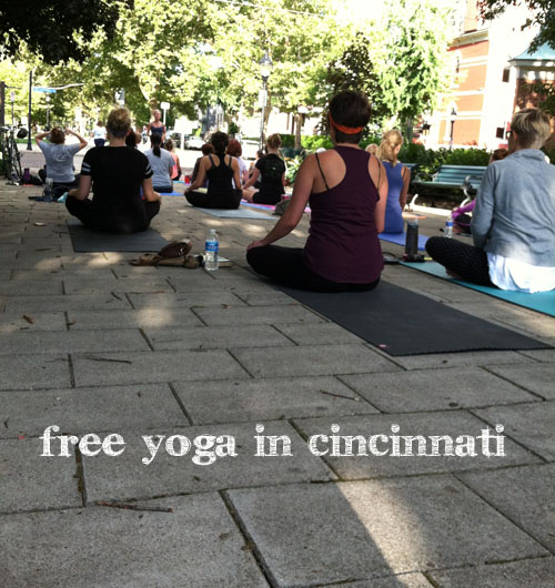 Free Yoga in Cincinnati
