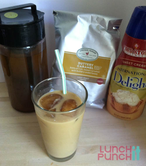 lunchitpunchit.com Iced Coffee at home