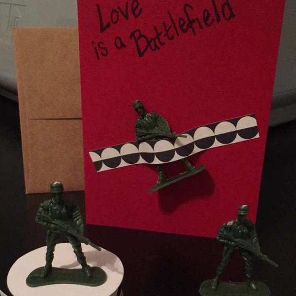 Love Is a Battlefield | udandi.com