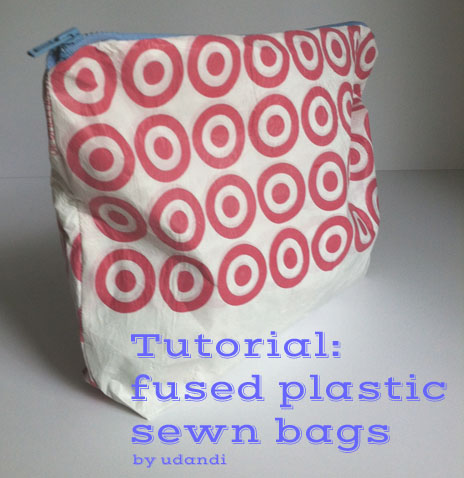 Fused Target Bag Tutorial #udanDIY