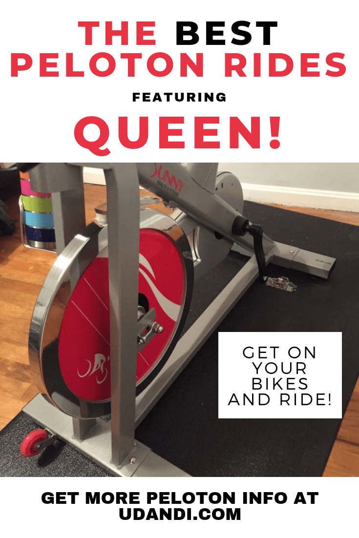 Queen music rides Peloton bike app