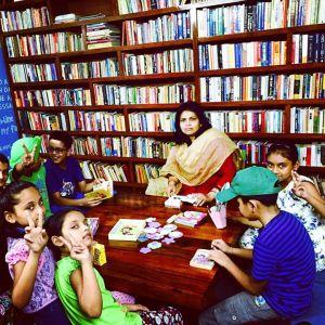 Uday Foundation reading room