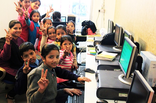 Computer Learning centre for Underprivileged Students