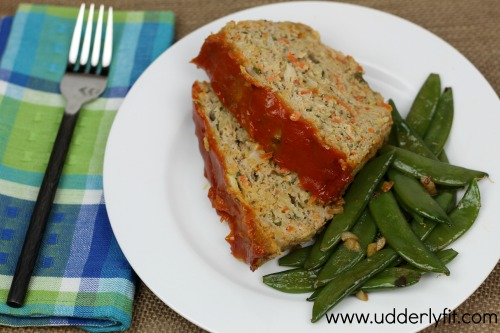 Vegetable Turkey Meatloaf