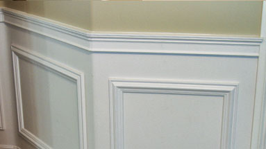 picture frame moulding below chair rail french country dining table and chairs gallery udecor com crown molding ceilingrelief casing