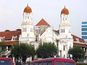 Lawang Sewu kota Semarang
