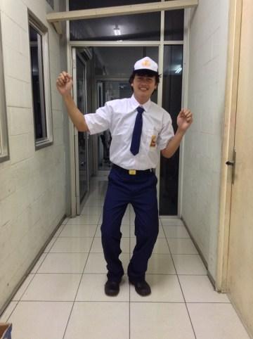 Udeh Nans baju SMP - The Raid 2 Berandal