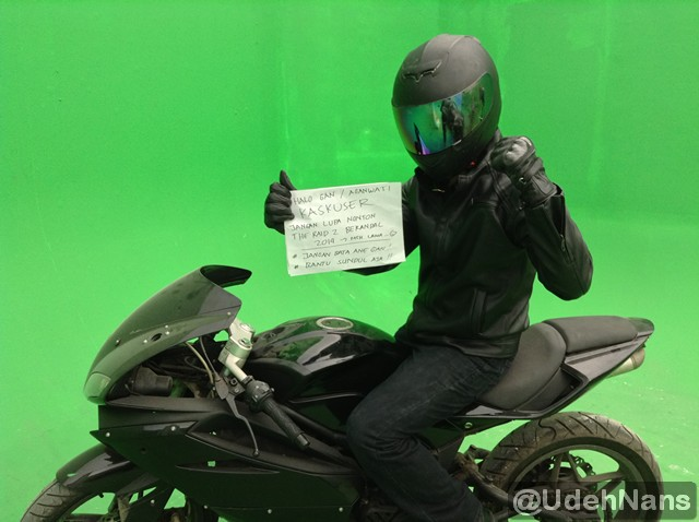 Stuntman Indonesia adegan motor di The Raid 2 Berandal 3