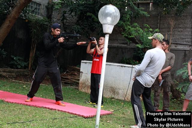 Latihan SWAT film Valentine 1