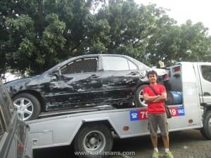 Mobil properti shooting