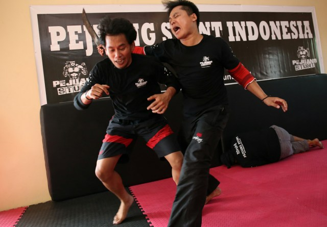Pejuang Stunt Indonesia - Latihan Fighting