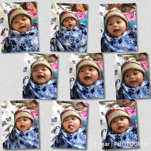 Naik KA Tawang Jaya Premium dengan bayi