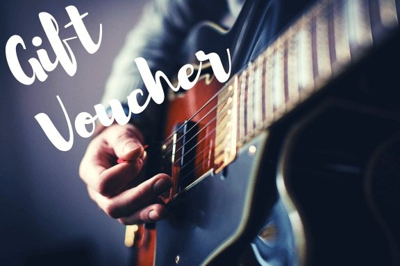 guitar lesson gift voucher - London, UK and online
