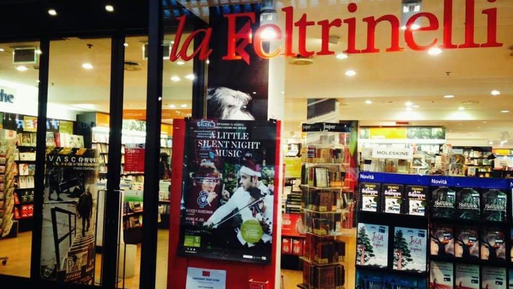 Furto alla Libreria Feltrinelli di via Canciani