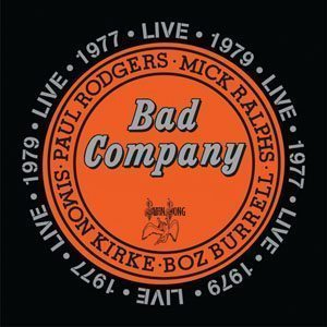 Bad Company Live 1977 And 1979 Album Cover