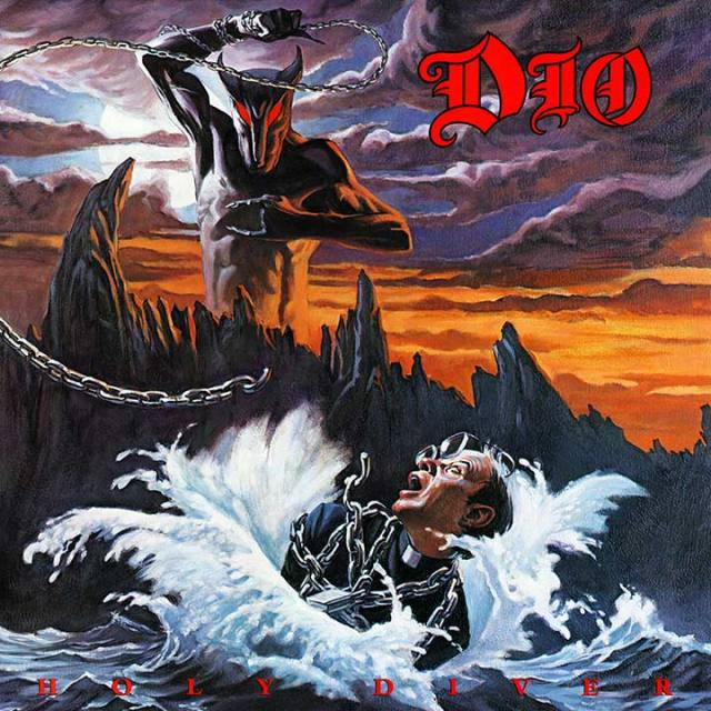 Dio Holy Diver Album Cover