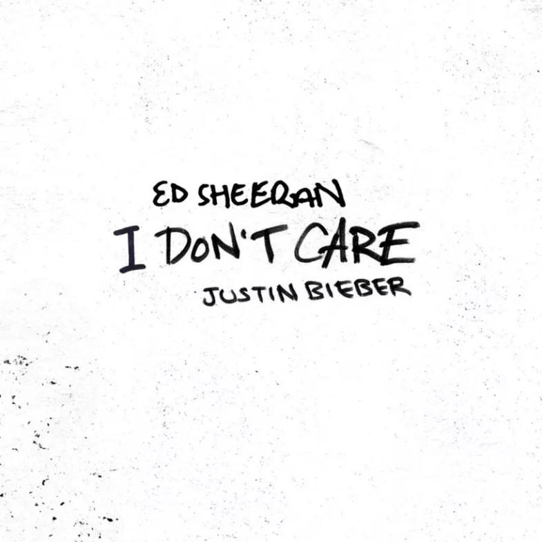 Justin Bieber Con Ed Sheeran I Don't Care, una obra de arte única