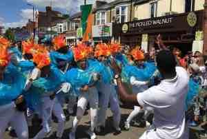 UDMSamba, Cowley Road Carnival, Uniao da Mocidade, Youth samba London and Oxford, Bateria Mirim, Tamborins, Tamborim