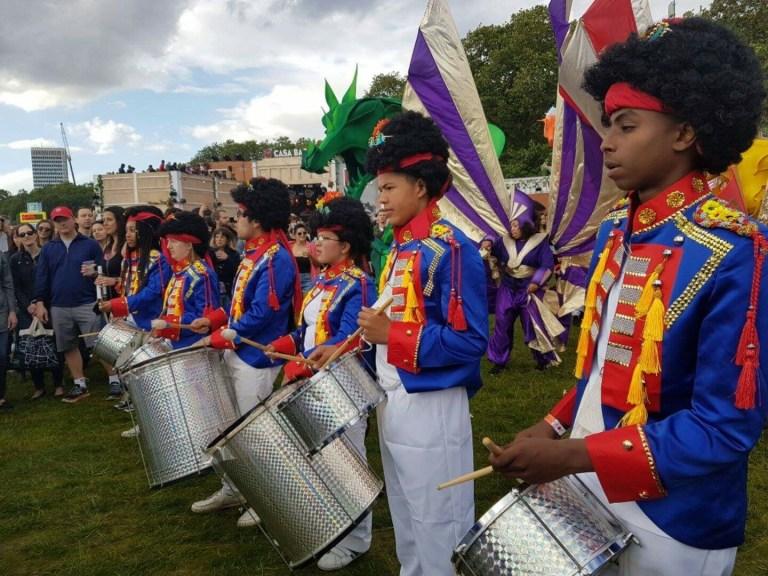 UDMSamba, Uniao da Mocidade, British Summertime Festival, Youth Samba London, Youth Bateria, Samba Drumming, Young London