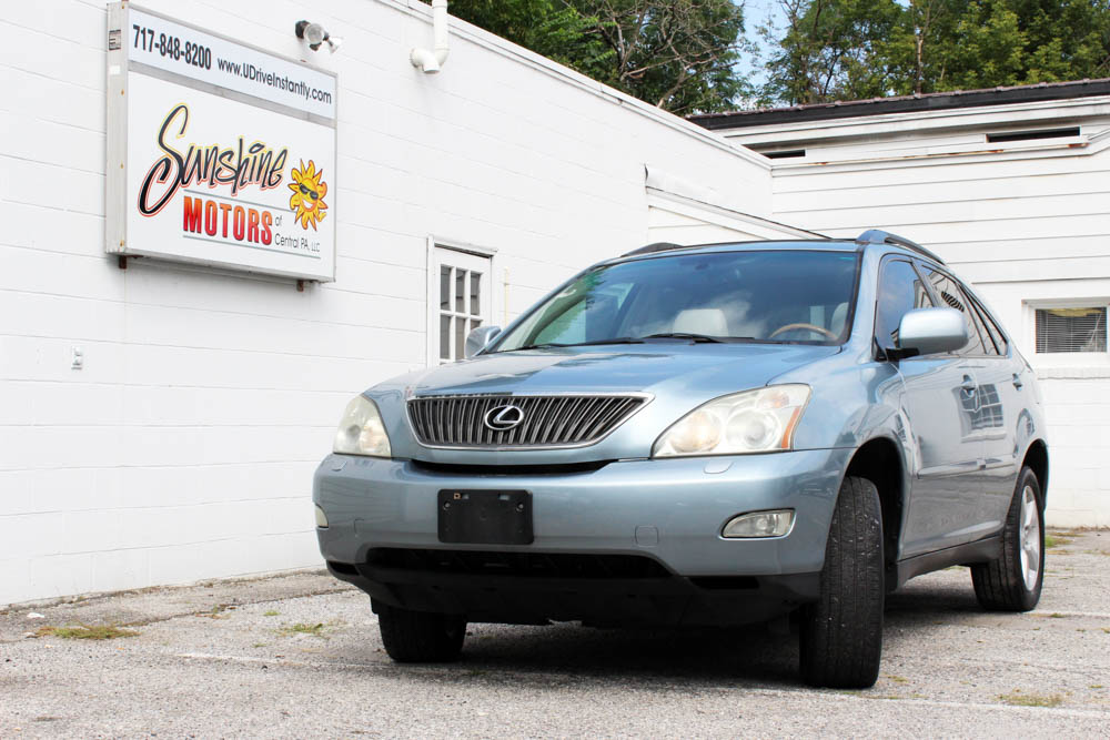 Blue 2007 Lexus RX 350 Front Side Buy Here Pay Here York PA