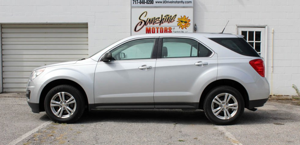 Chevrolet Equinox 2012 Side Buy Here Pay Here York PA