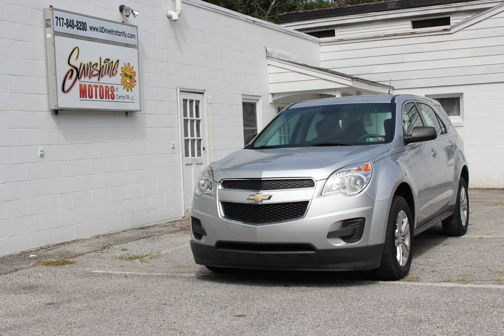 Chevrolet Equinox 2012 Front Side Buy Here Pay Here York PA
